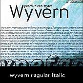 wyvern regular italic