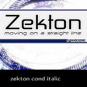 zekton cond italic