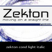 zekton cond light italic