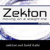 zekton ext bold italic