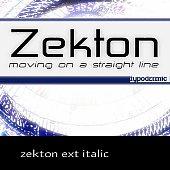 zekton ext italic