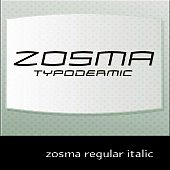 zosma regular italic