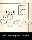 1751GLCCopperplateOutlineItalic